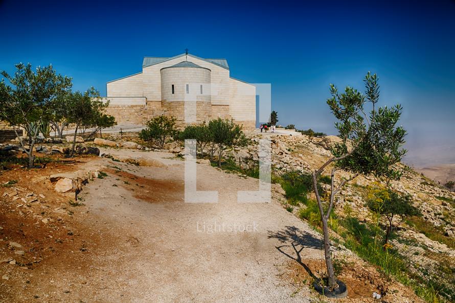 antique monastery