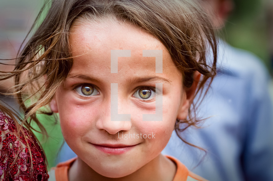 Muslim, Kurdish, Turkish girl