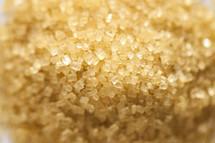 Sugar crystals.