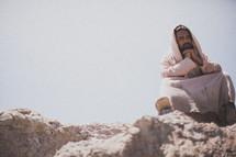 Jesus in prayer