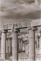 columns at an archeological site