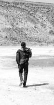 men with guns along the African border