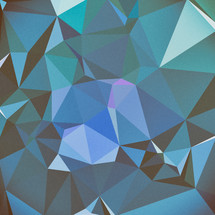 teal and blue geometric background