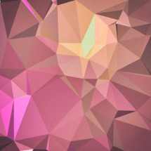 pink and yellow geometric background