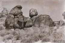 rocks in a desert