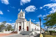 El Carmen Catholic Church, Santa Clara, Cuba. National Monument