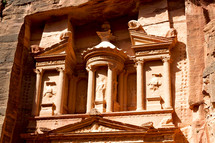 ancient monastery in Petra