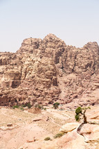view of Petra from high up