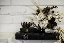 Bouquet on Bible
