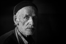 Elderly Turkish man