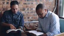 Men;' Bible study.