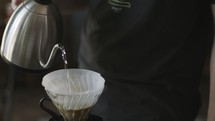 coffee shop slow pour