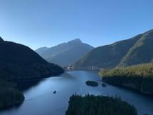 mountain lake in Canada