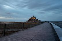 castle in Normandie