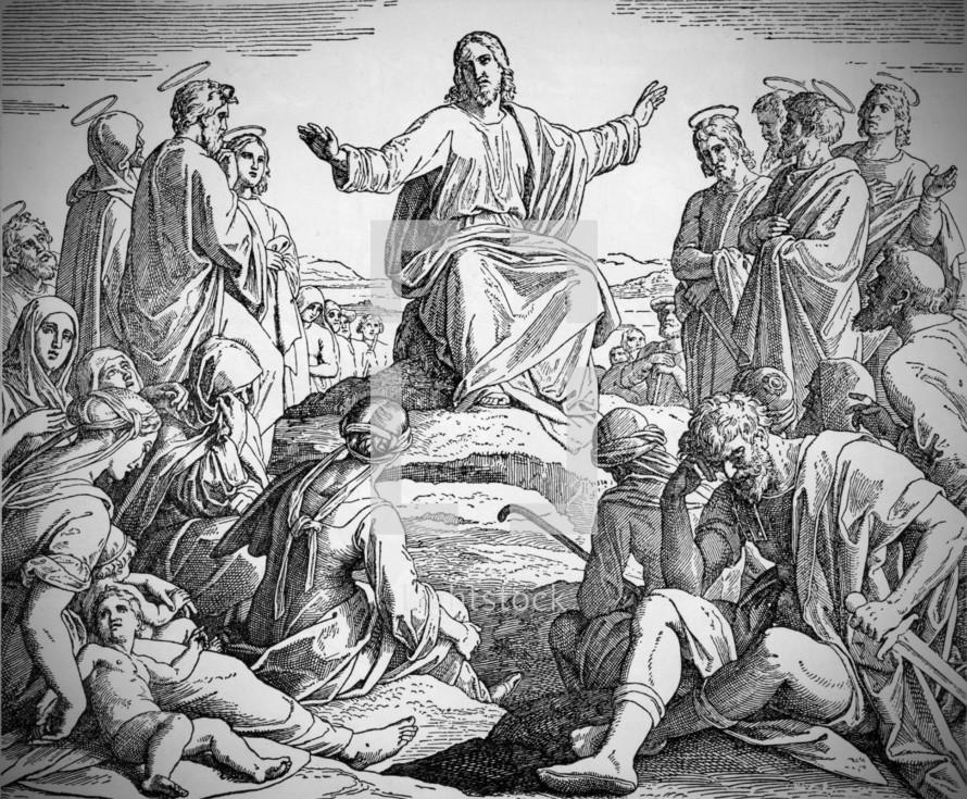 Jesus' Sermon on the Mount, Matthew 5