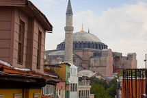 Hagia Sophia Mosque, formerly the world's largest church and first megachurch, Ayasofya Cami