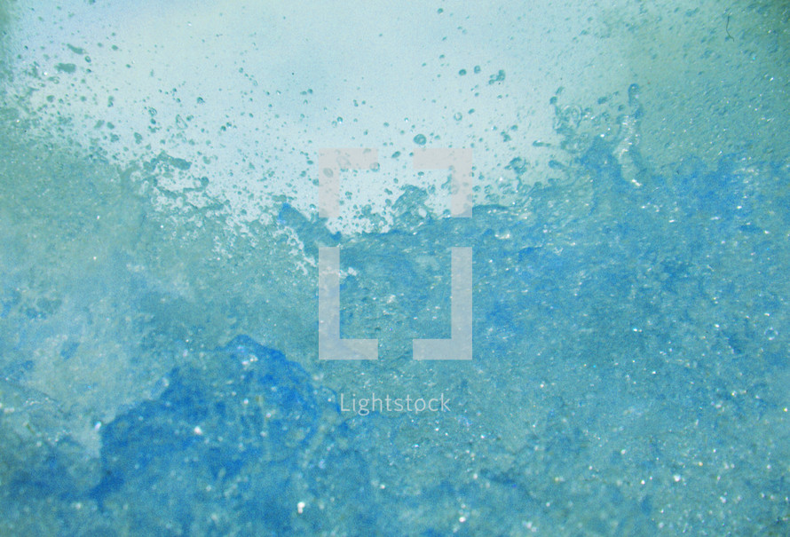 Water Waves Splash abstract