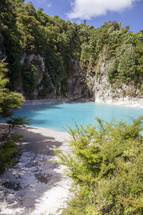 Inferno Crater Waimangu swimming hole