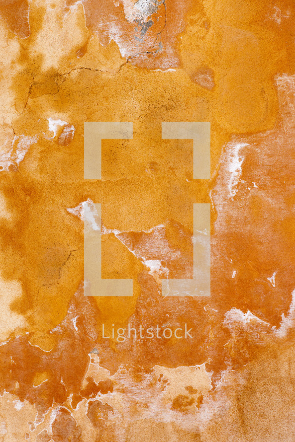 orange grunge wall background