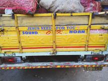 sound horn for Jesus