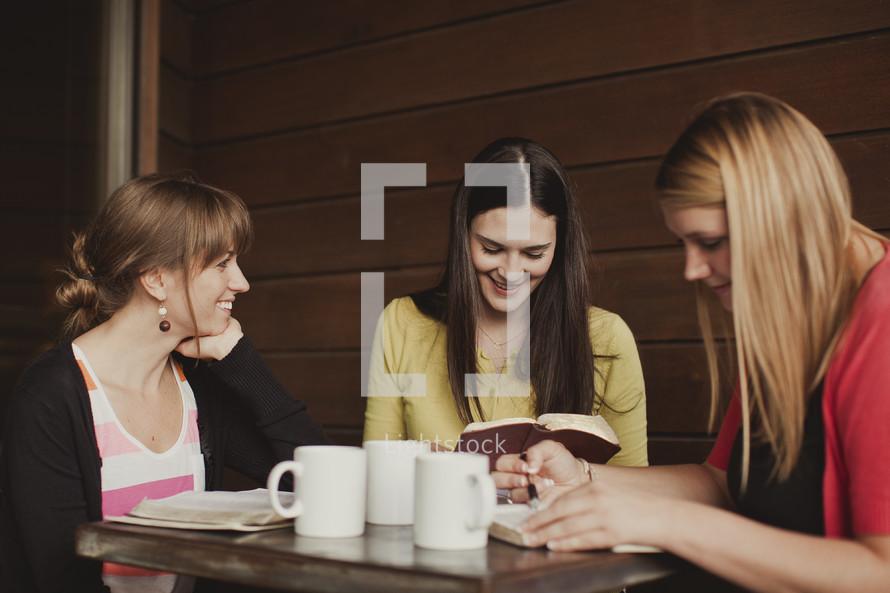 Women's Bible study group