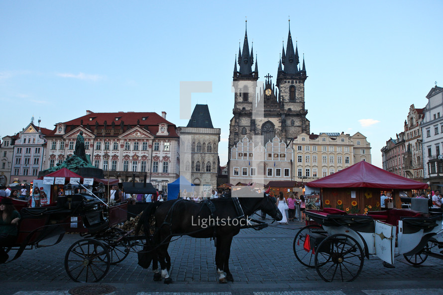 horse drawn carriages in Czech Republic
