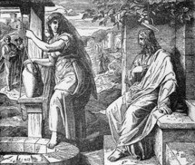 Jesus and the Samaritan woman at the well, John 4: 7-26