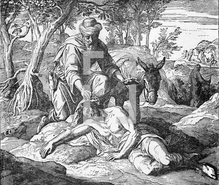 The Good Samaritan, Luke 10: 33-34