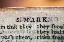 S, Mark