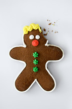 eaten gingerbread man