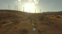 wind farm in Palm Springs