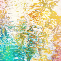 wavy water surface reflections bright bold