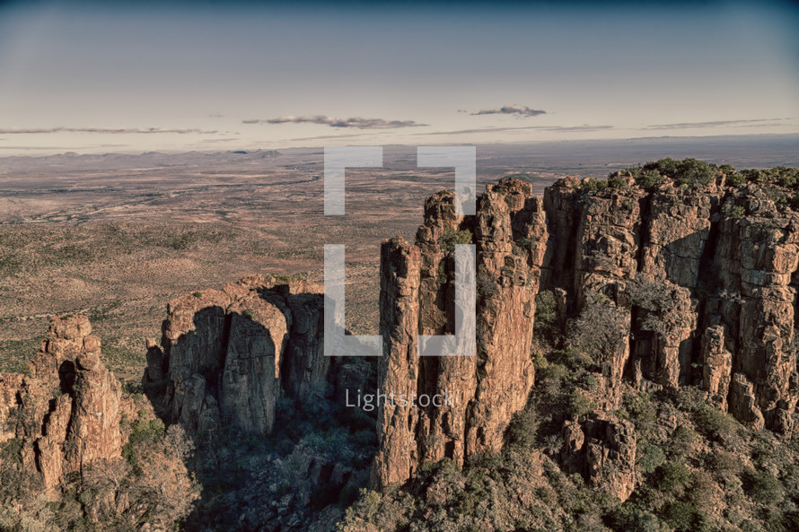 rock formations in Africa