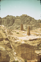 archeological site classical heritage in Petra