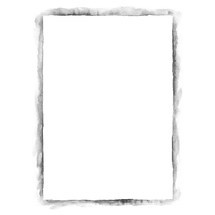 Watercolor frame. White blank A4 template paper sheet for presentation corporate identity isolated on white background. Abstract aquarelle texture created in handmade technique. Use it in all your design projects.