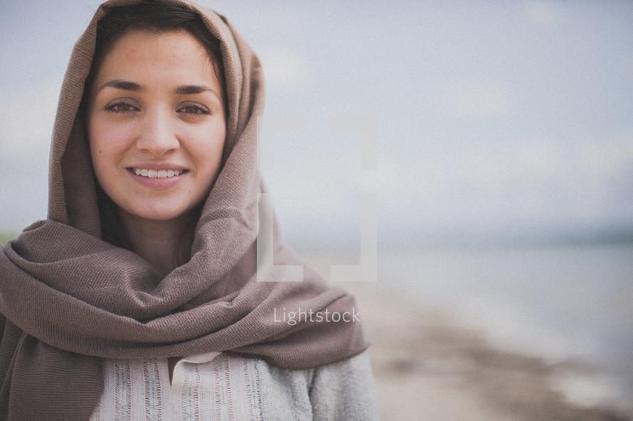 biblical woman smiling