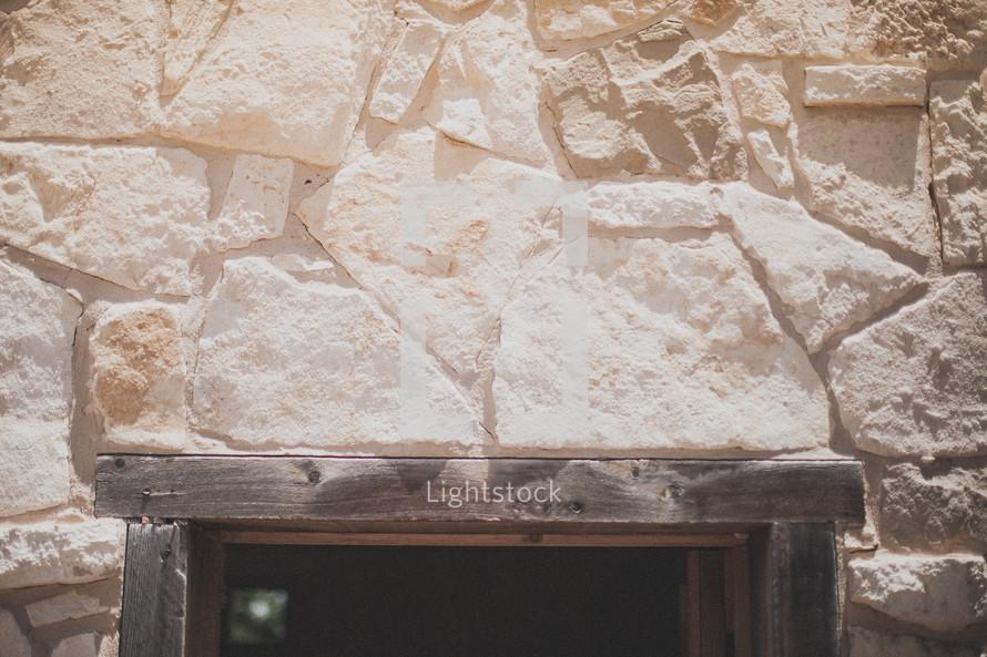 Threshold of a door