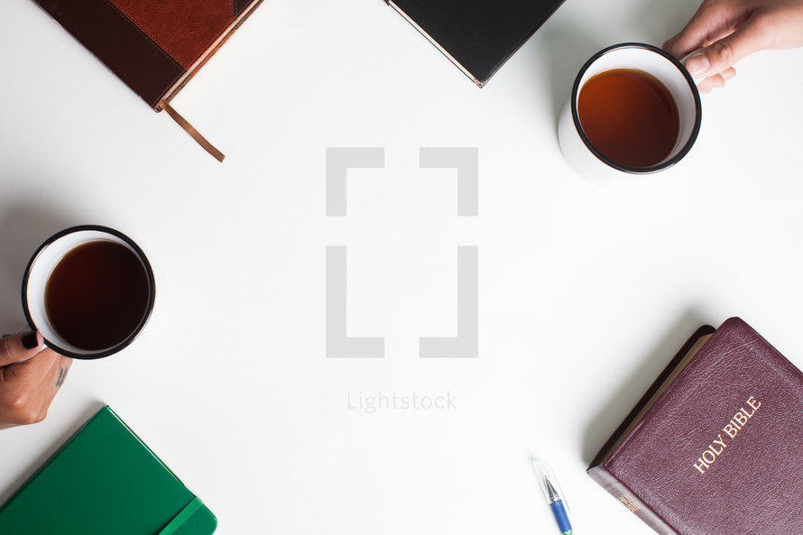 journal, Bible, coffee mug, coffee, mug, pencil, Bible study, cover