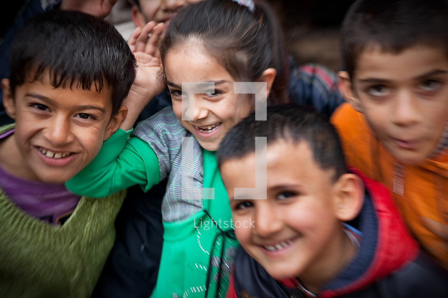 Turkish muslim kids