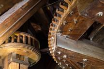 gears in a windmill