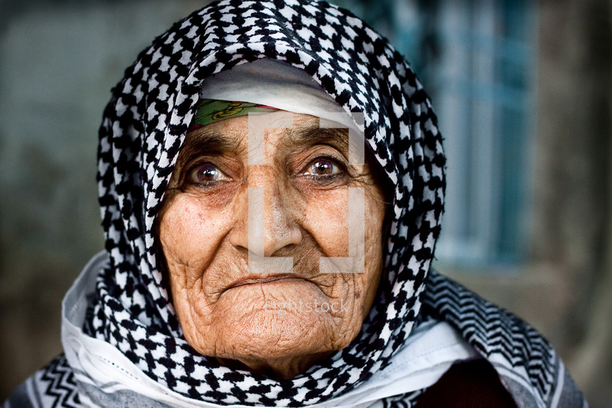 Elderly Jewish woman