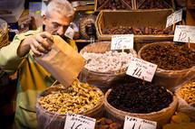 Local market in Turkey