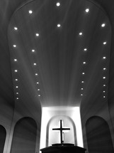 lights over an altar