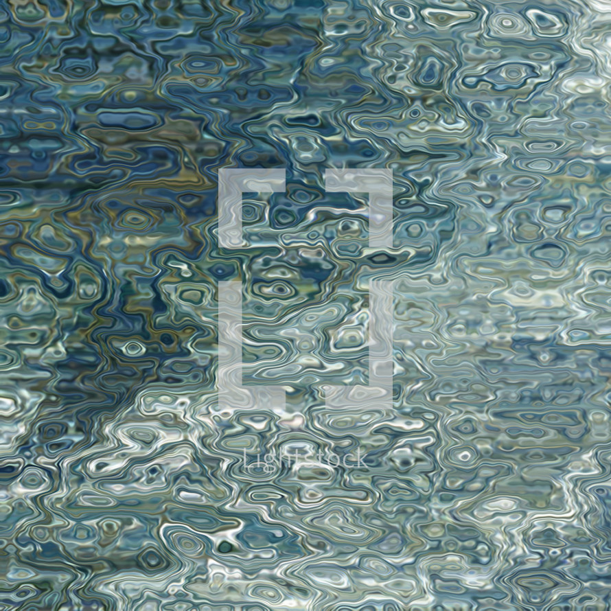 water surface abstract background square format