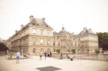 Paris Luxembourg Gardens Palace