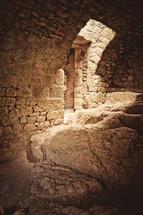empty cellar