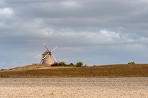 windmill in Normandie