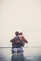 sacrament of baptism - hug