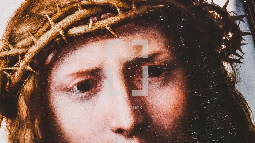 painting of Jesus