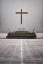 altar at a church in Liverpool